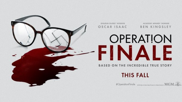 Image result for operation finale movie poster