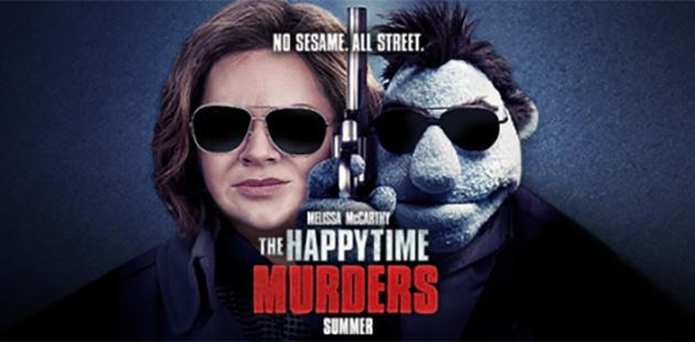 happy time murders release date