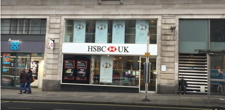 HSBC bank in The Strand, London - Your London Guide
